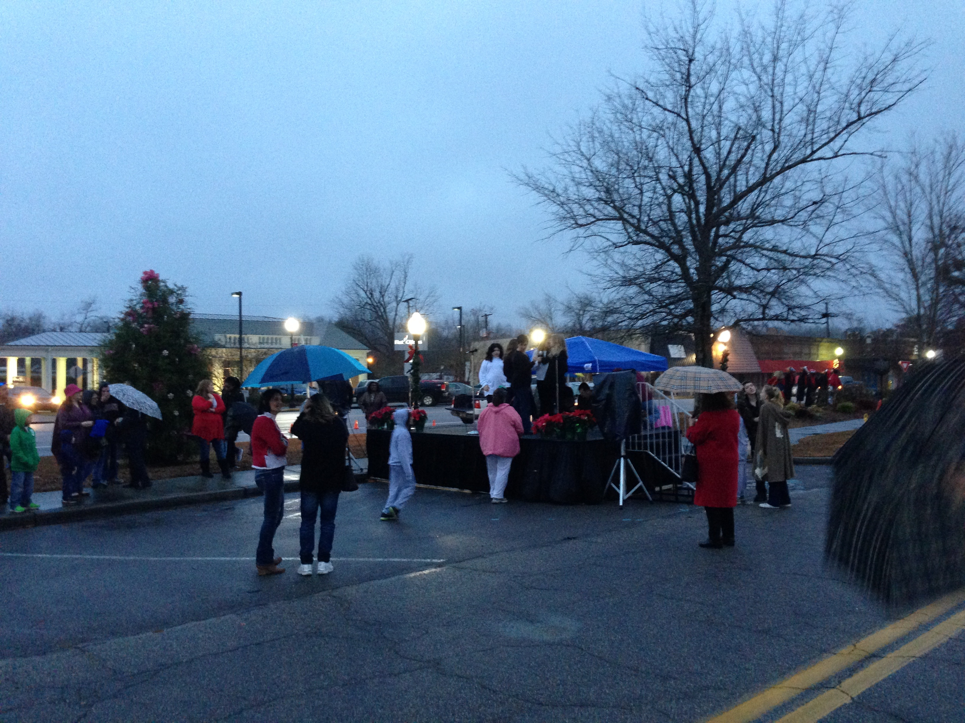 Christmas Tree Lighting and 2013 Citizen of the Year