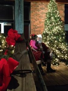 Christmas Tree Lighting-Santa-2014